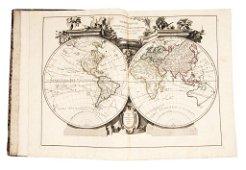Atlas. SANTINI. Atlas universel dressé sur les