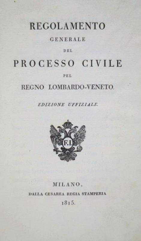 LOMBARDO-VENETO UNITED - JURISPRUDENCE