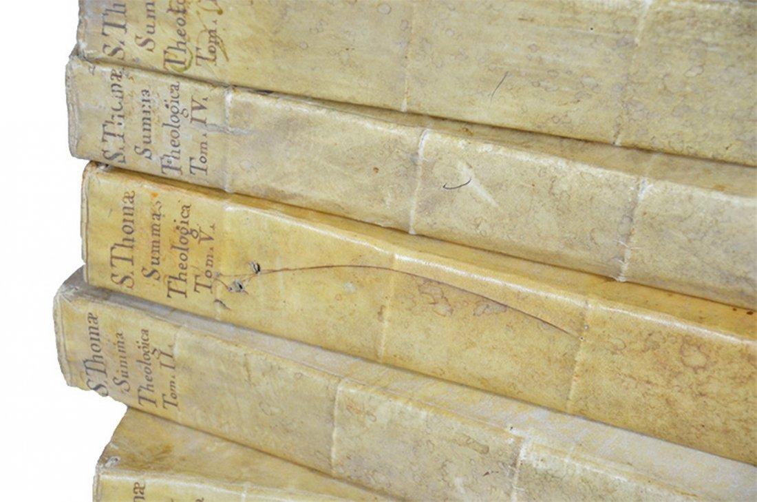 Thomae Aquinatis Summa Theologica in quinque tomos