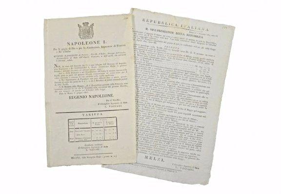 [New Coinage Dalmatia-Istria and Italy] 2 edicts
