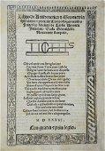 LAZISE. Libro di Aritmetica, et Geometria Speculativa