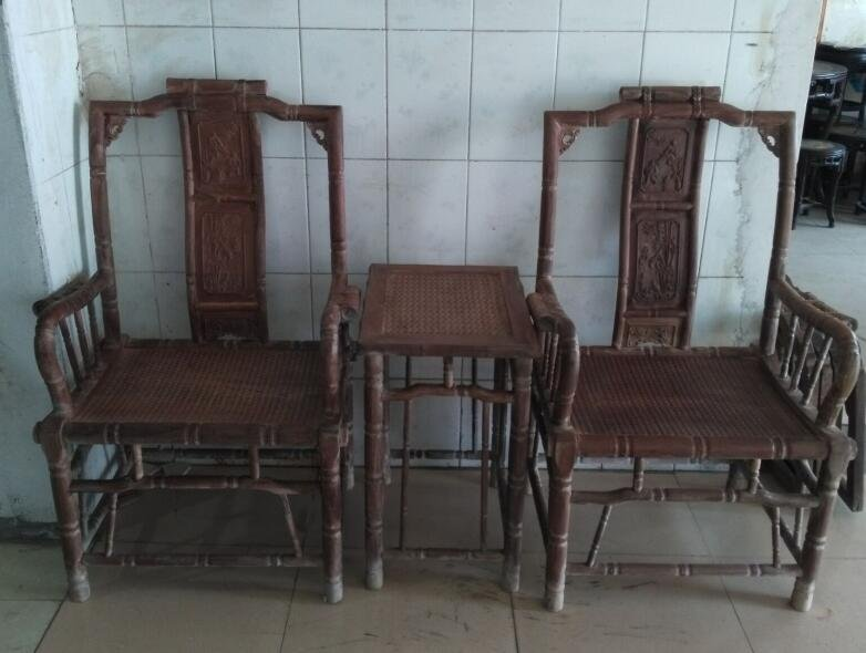 huanghuali Superb carving Bamboo festival Taishi chair