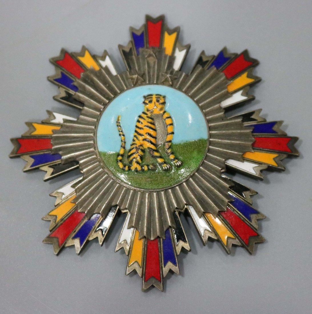 World War II cloisonne enamel color medal 5 - 2