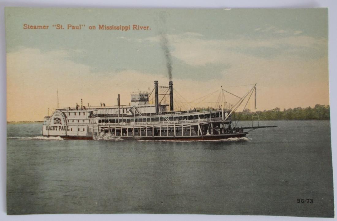 Unused Steamboat Postcard c1910's