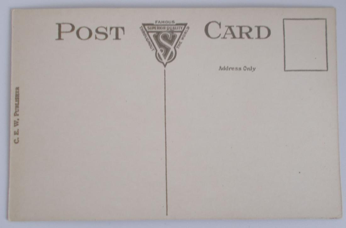 Unused Steamboat Postcard c1910's - 2