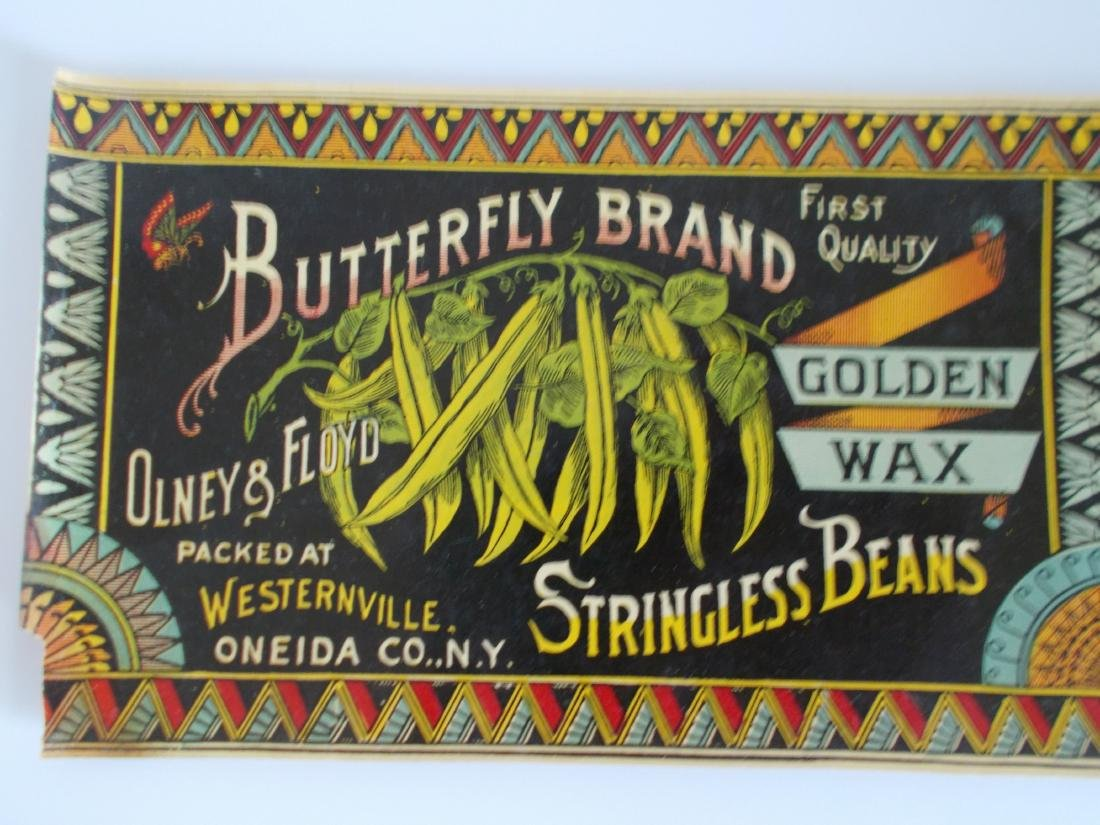 Very Rare Early Butterfly Brand Golden Wax Stringless - 3