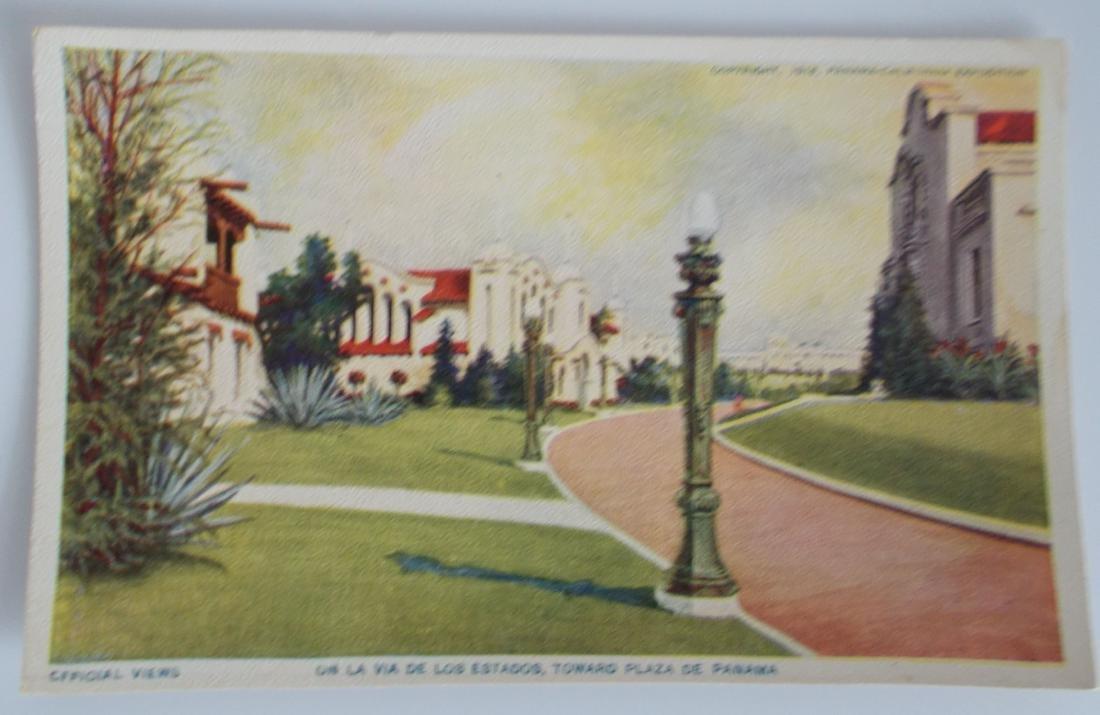 Unused 1915 Panama-California Exposition Postcard