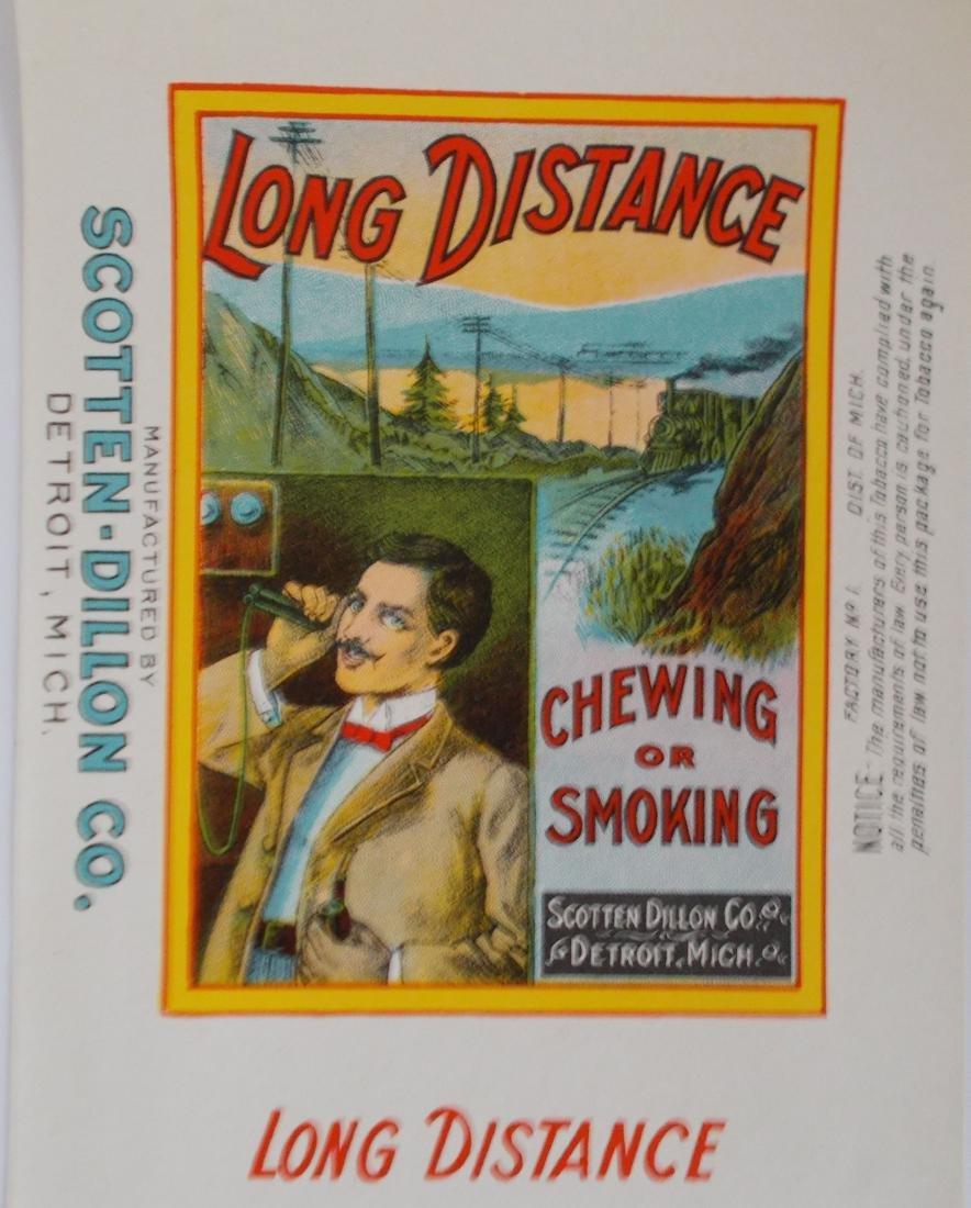 "Long Distance Tobacco Wrapper. c.1910 – 12"" long"