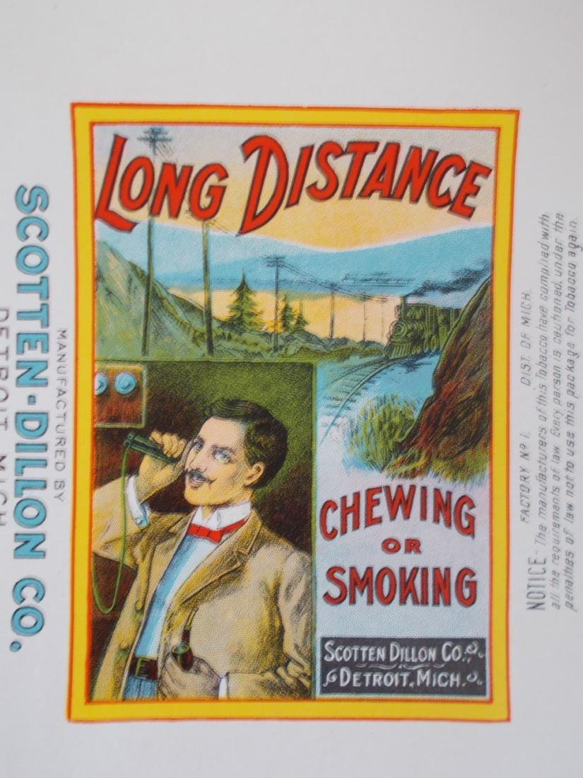 "Long Distance Tobacco Wrapper. c.1910 – 12"" long - 3"