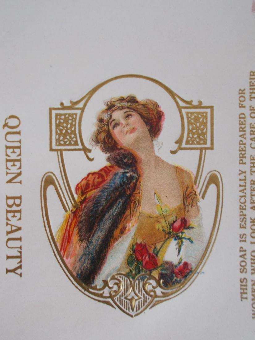 4 Dr. Lynas Queen Beauty Toilet Soap Bar Wrapper Label