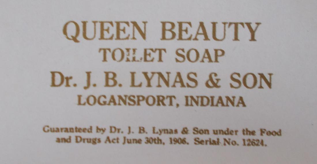 4 Dr. Lynas Queen Beauty Toilet Soap Bar Wrapper Label - 3