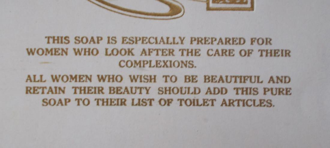 4 Dr. Lynas Queen Beauty Toilet Soap Bar Wrapper Label - 4