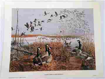 1973 Remington Arms �Canada Geese at Horicon Marsh�