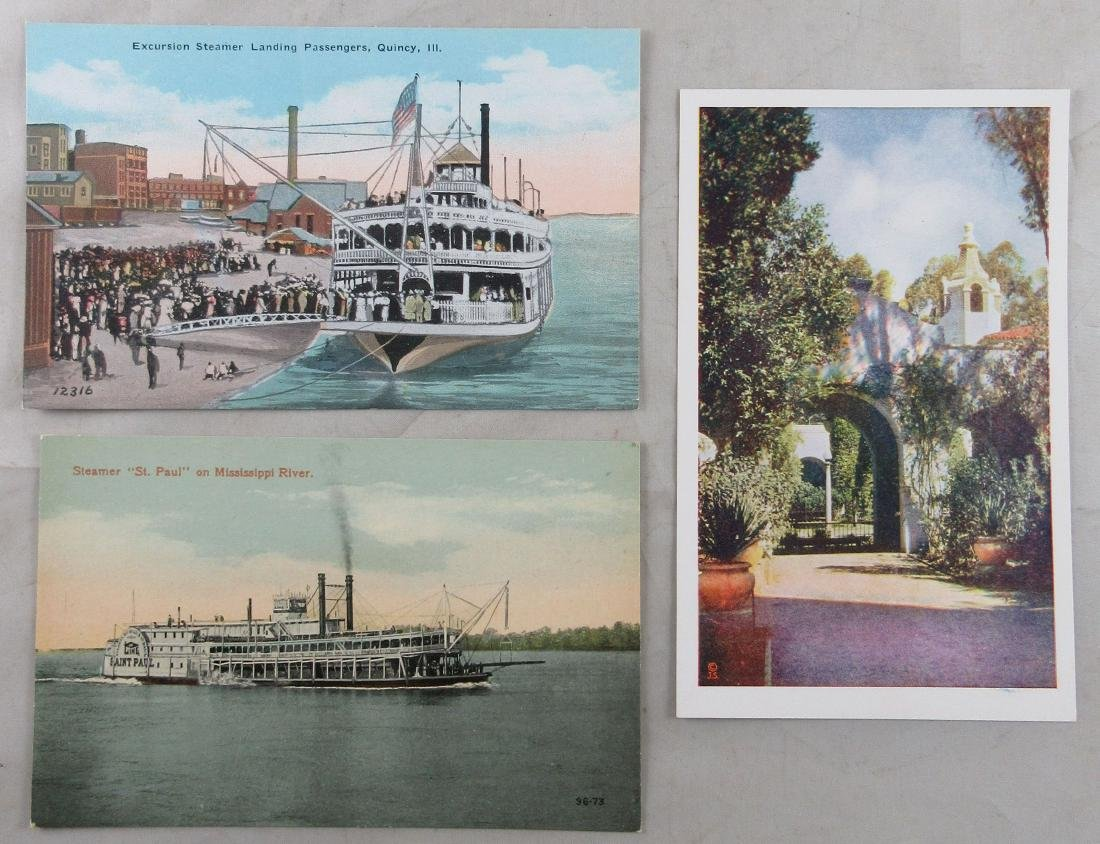 3 Unused Antique Postcards. c. 1910s and 1935
