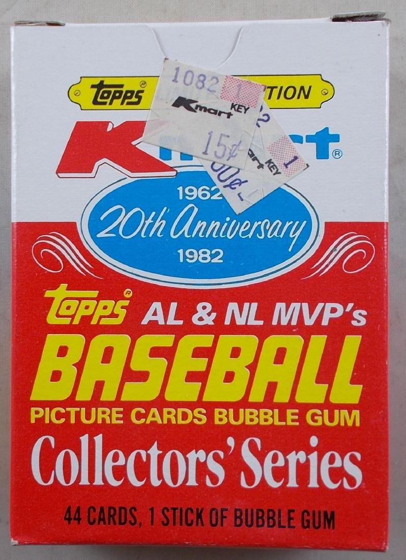 Unopened Box of 44 Topps Kmart Collectors Series