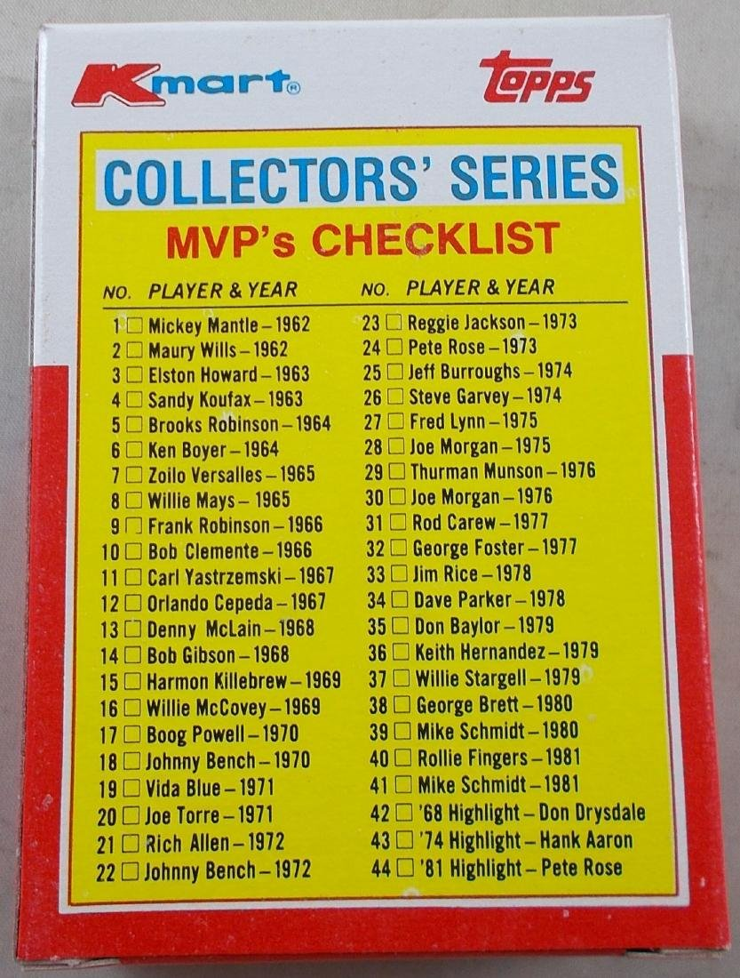 Unopened Box of 44 Topps Kmart Collectors Series - 3