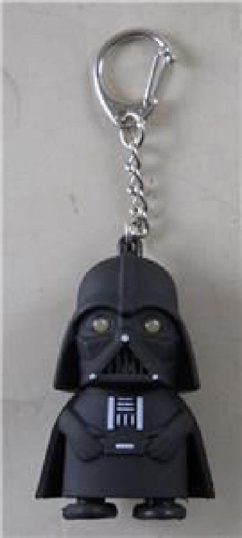 Star Wars Darth Vader Key Chain Figure. Eyes Light Up