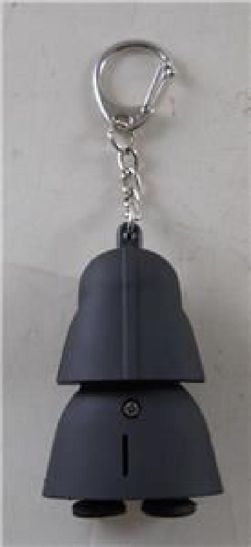Star Wars Darth Vader Key Chain Figure. Eyes Light Up - 2