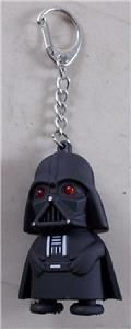Star Wars Darth Vader Key Chain Figure. Eyes Light Up