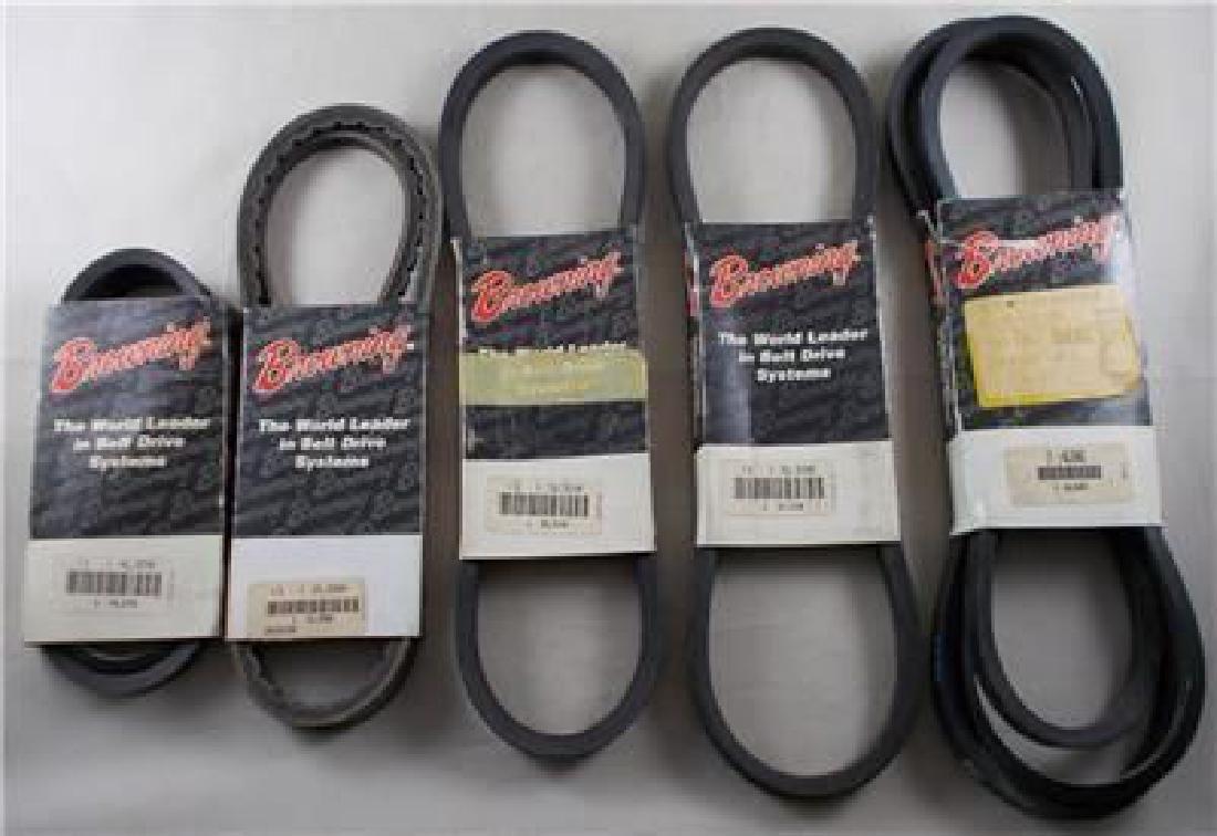 Lot of 5 Vintage Browning V Belts – New Old Stock