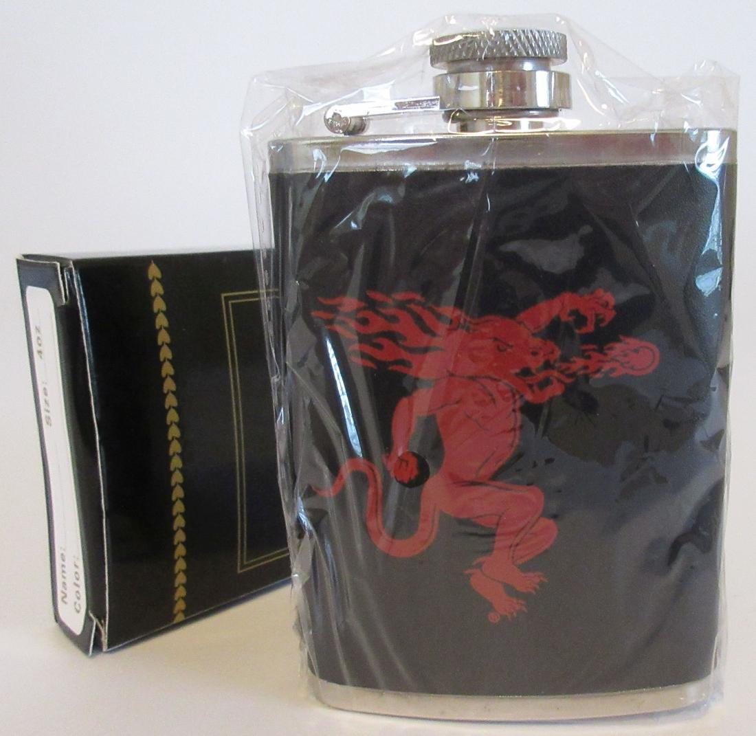 Fireball Cinnamon Whiskey Dragon Hip Flask – New in Box