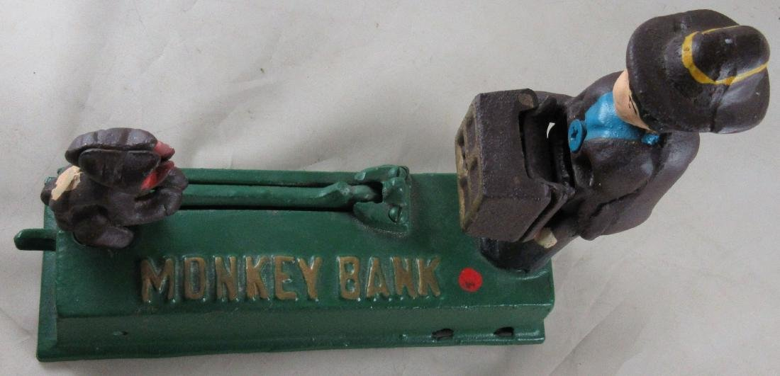 Monkey Mechanical Bank – Reproduction - 3