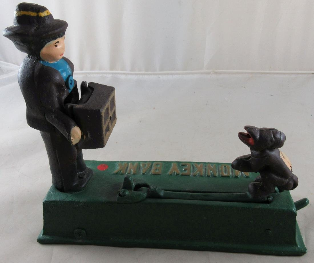 Monkey Mechanical Bank – Reproduction - 5