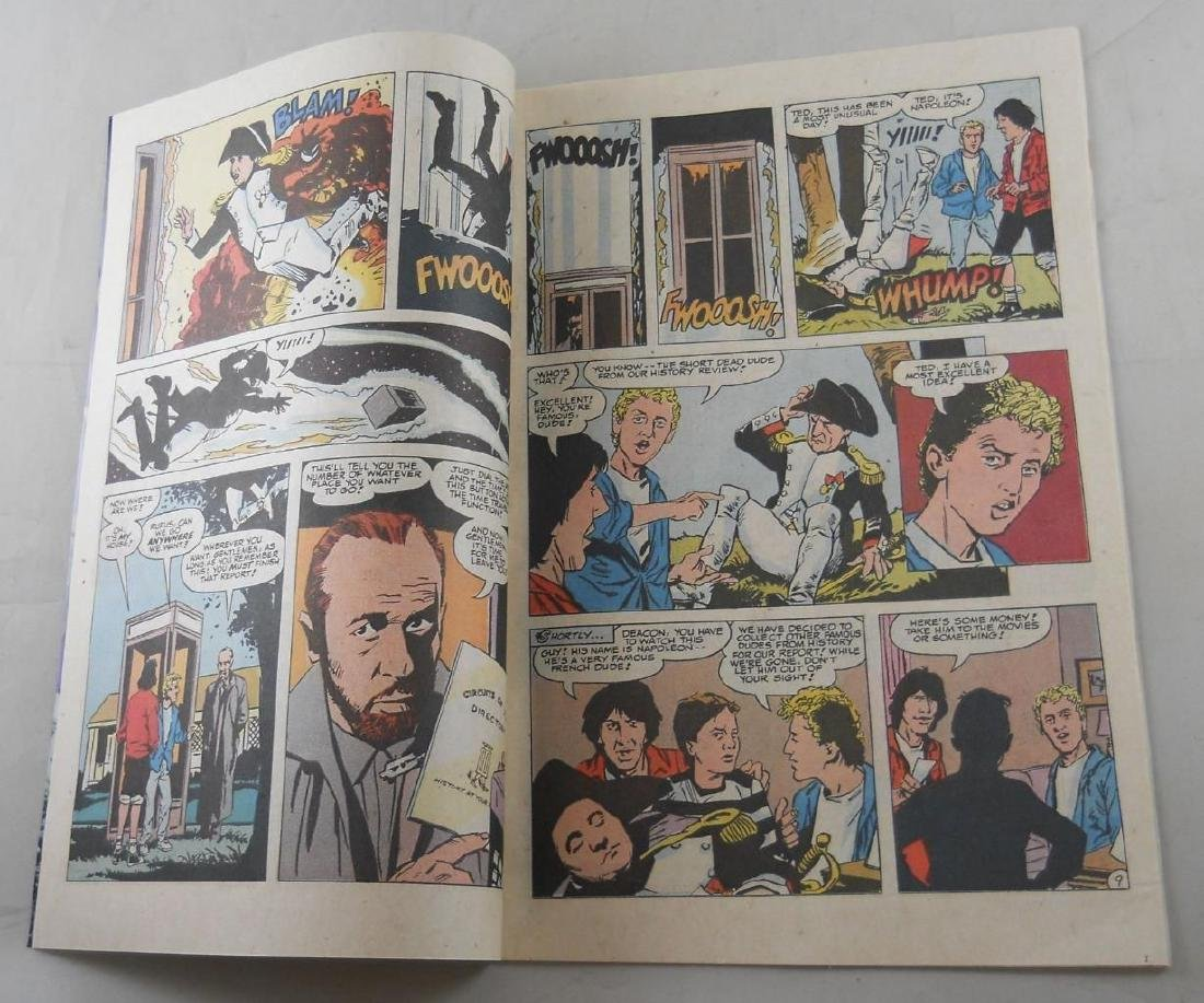 Bill & Ted's Excellent Adventure Promo Comic Book – DC - 3