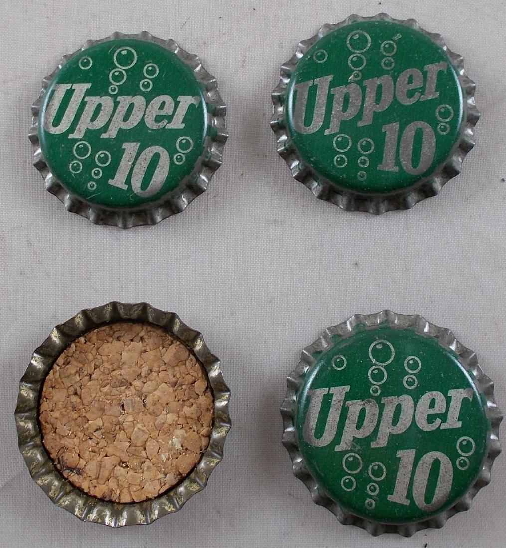 Lot of 4 Cork Lined Upper 10 Soda Bottle Cap – Unused