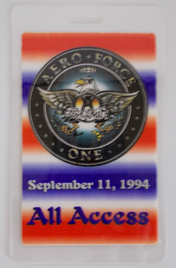 Unusual Version Aerosmith All Access Laminated OTTO