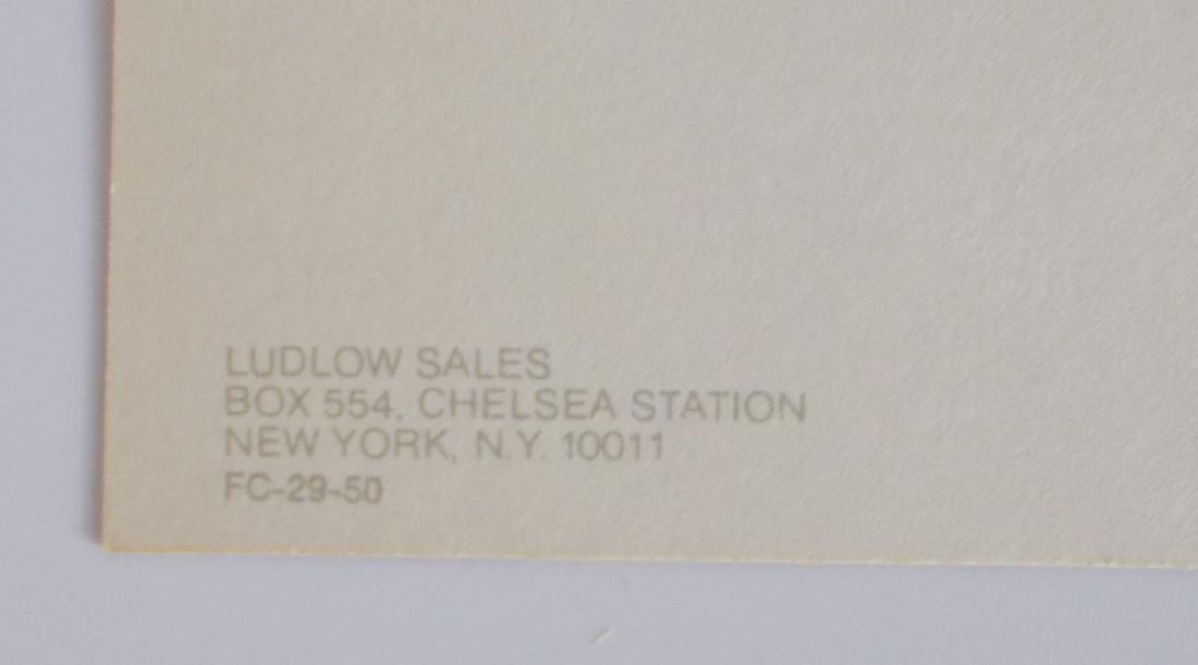 Marilyn Monroe Sepia Fotocard - Ludlow Sales FC-29-50 - 2