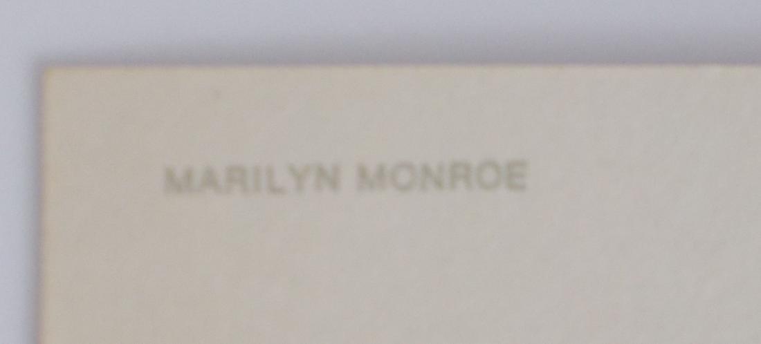 Marilyn Monroe Sepia Fotocard - Ludlow Sales FC-29-50 - 3