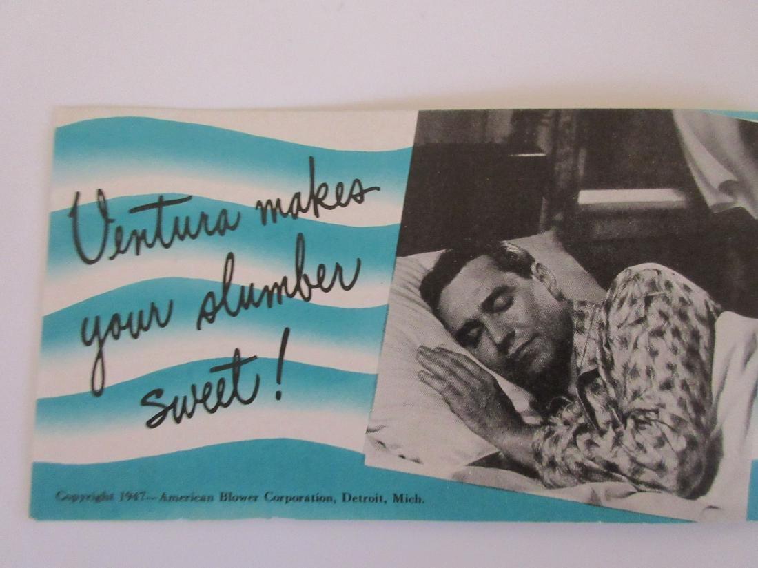 1947 Ventura Attic Fan Brochure - 3