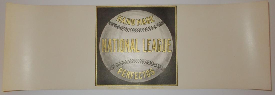 Rare Large Full Size National League Perfectos Cigar