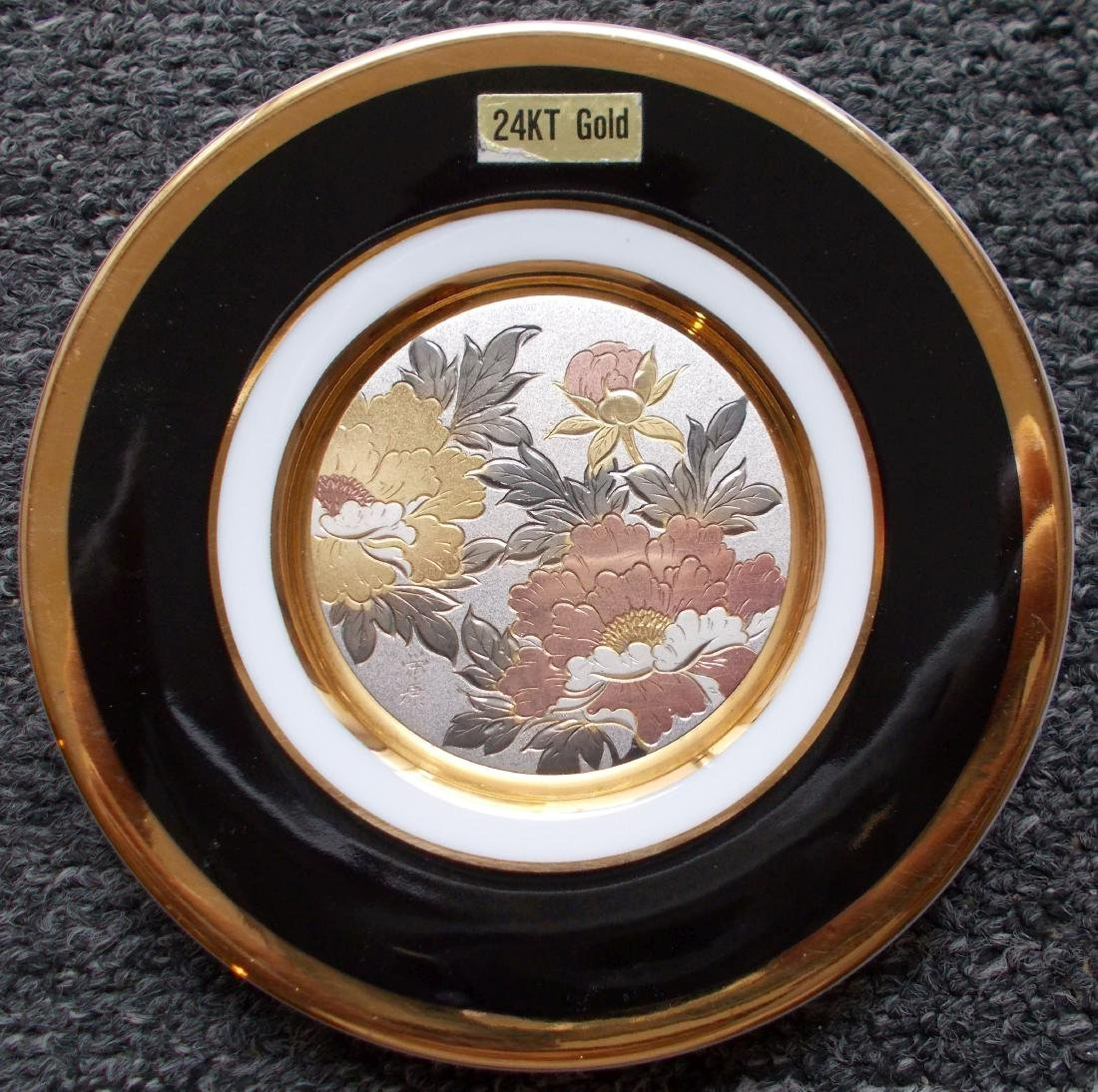 24kt Gold Plated Plate – Japan