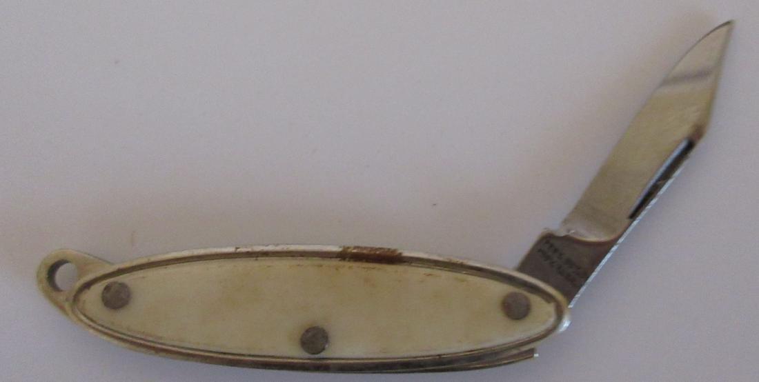 Providence Cutlery Co. Mini Keychain Pocket Knife.