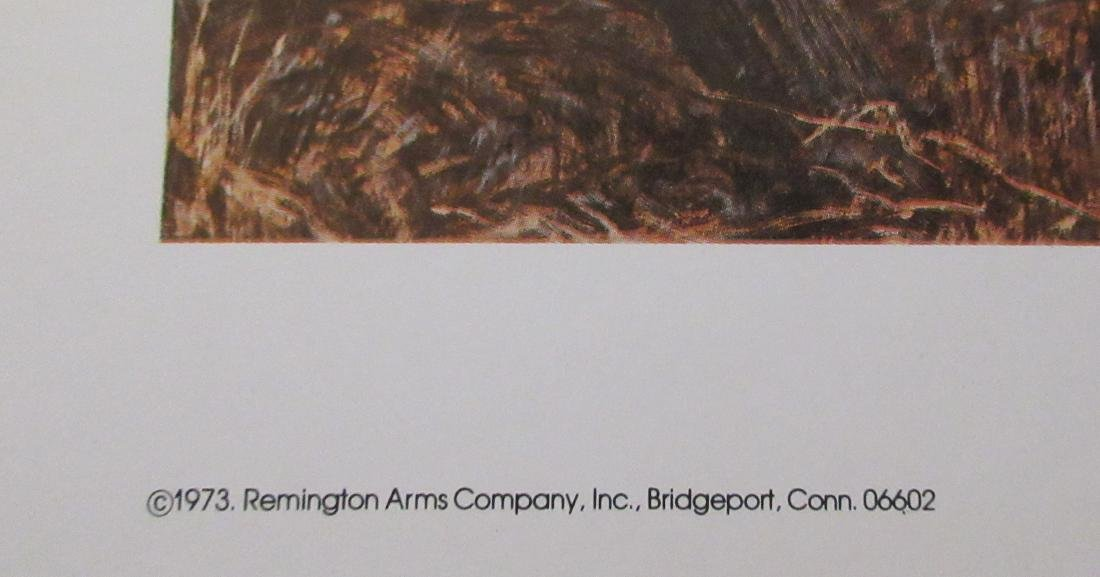 """1973 Remington Arms """"Canada Geese at Horicon Marsh"""" - 3"""