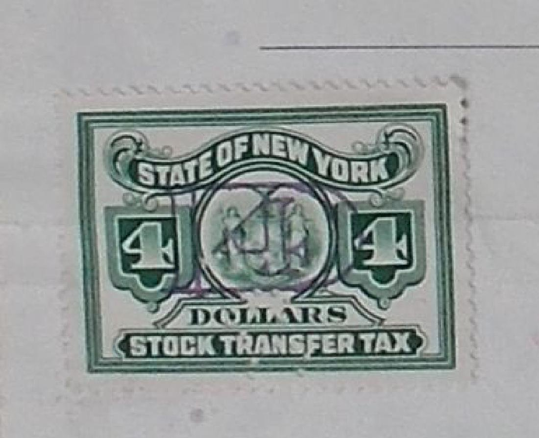The Meadow Brook National Bank Stock Certificate - - 3