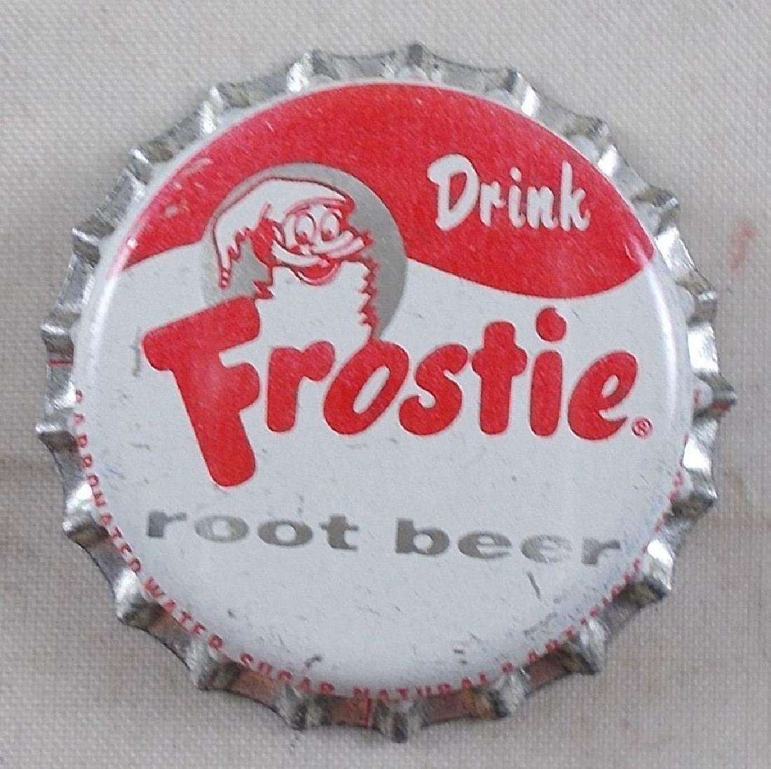 Frostie Root Beer Cork Lined Bottle Cap with Frostie