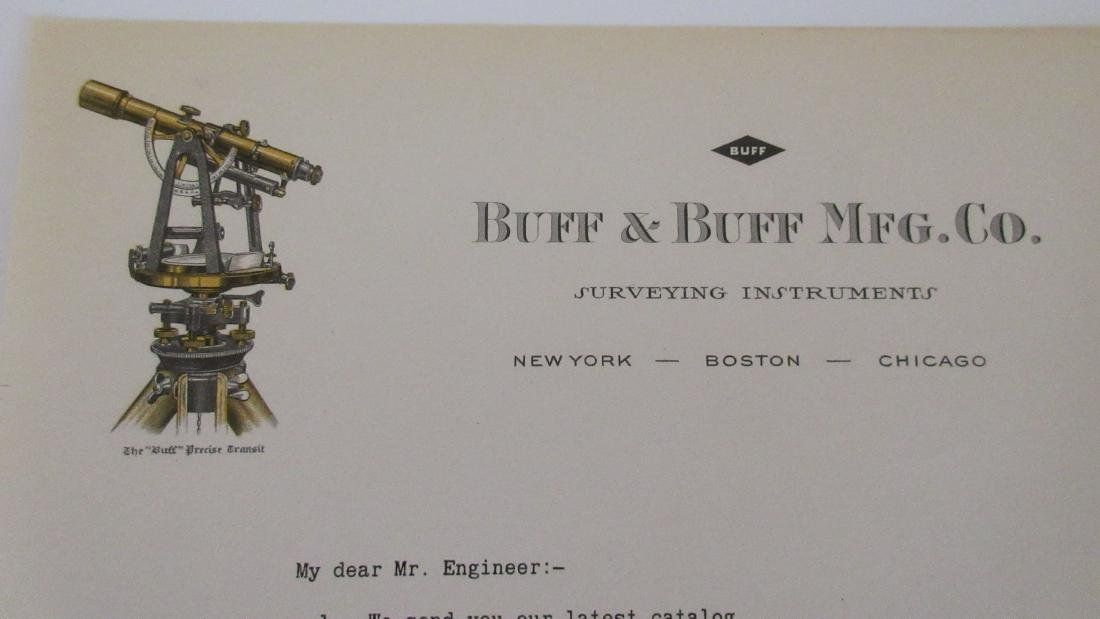 Buff & Buff Surveying Instruments Letter - Detailed - 2