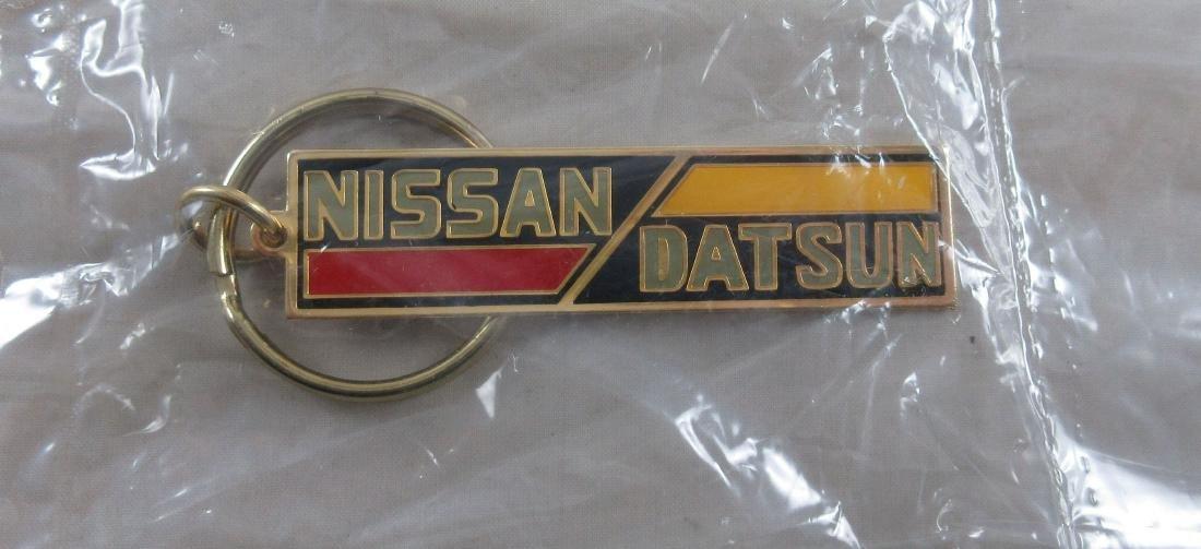 Nissan Datsun Keychain c. 1980's. Datsun name was