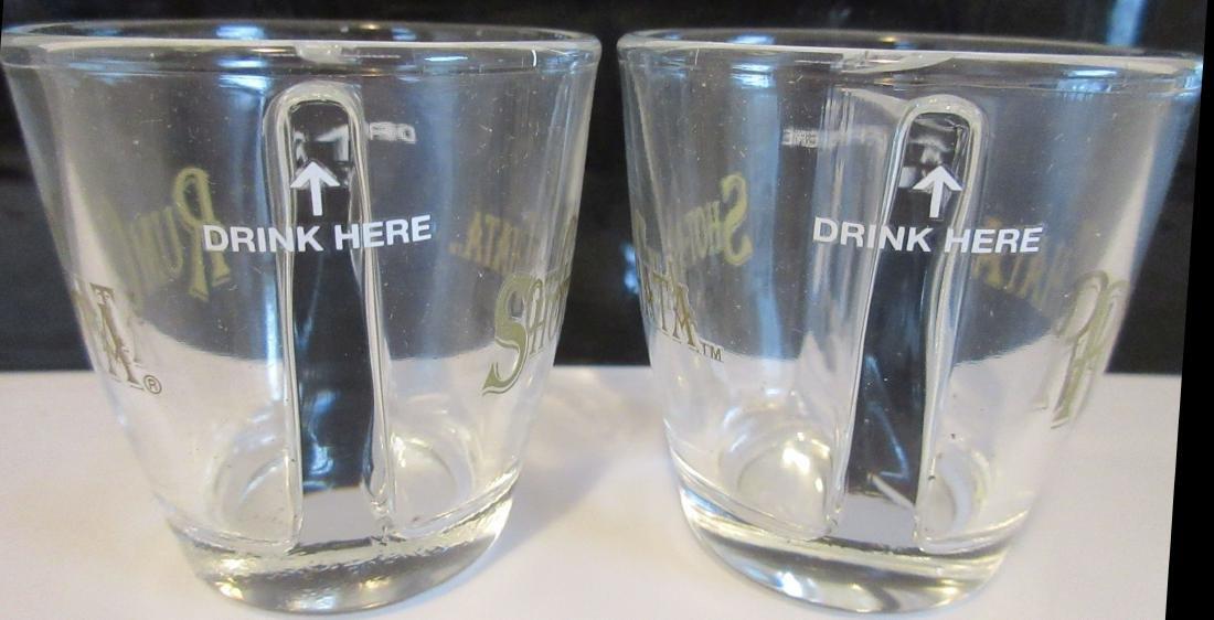 2 Rum Chata Divided Shot Glasses – Brand New - 2