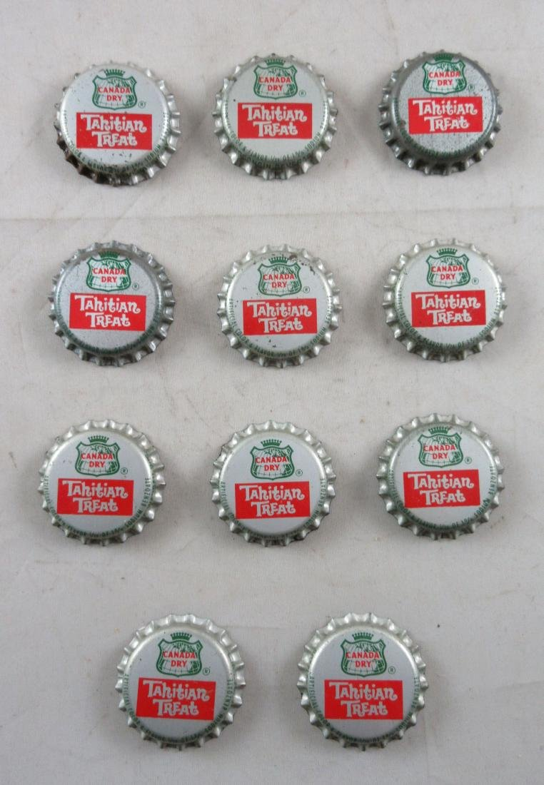 Lot of 11 Vintage cork lined Canada Dry Tahitian Treat