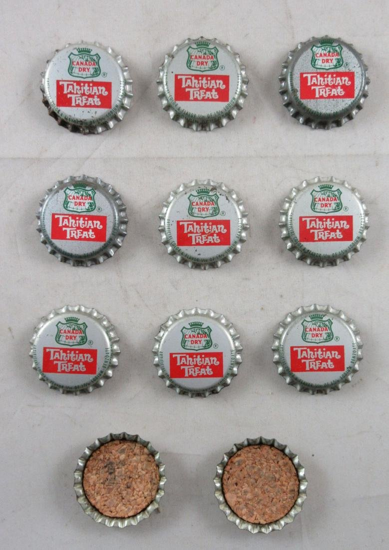 Lot of 11 Vintage cork lined Canada Dry Tahitian Treat - 2