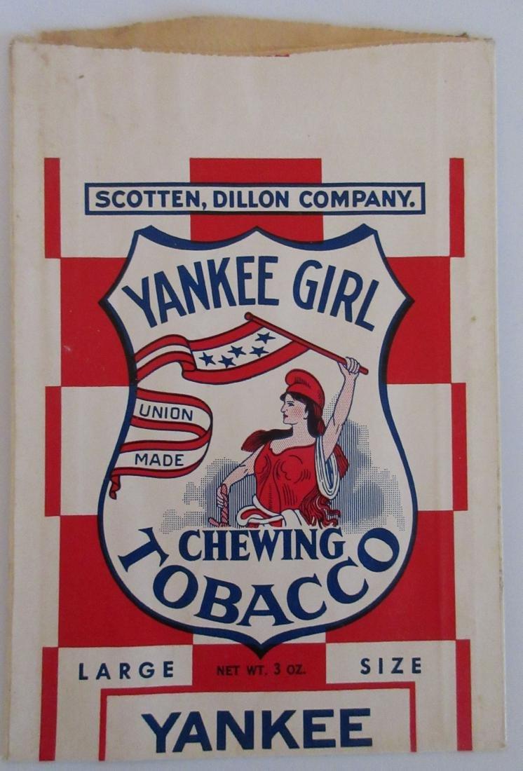 Yankee Girl Chewing Tobacco Bag. c.1940s