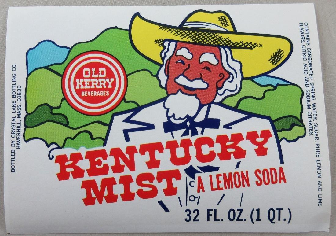 Uncommon Kentucky Mist Lemon 32 oz. Soda Bottle Label