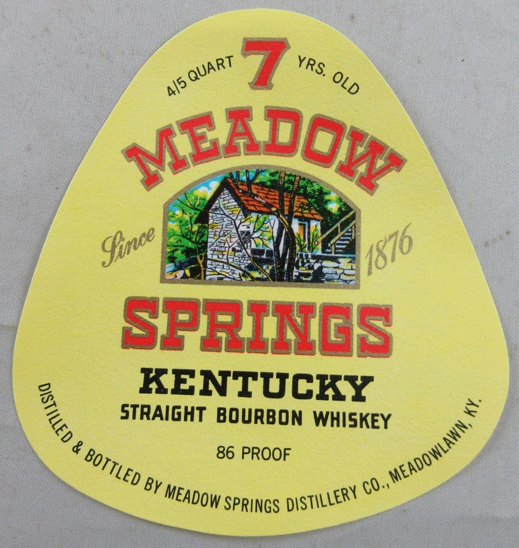 7 Meadow Springs Kentucky Straight Bourbon Whiskey
