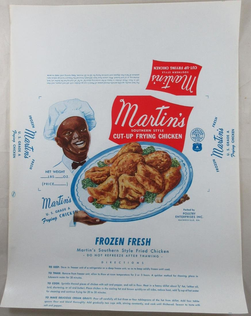 "Large 16"" Martin's Southern Style Frying Chicken Box"