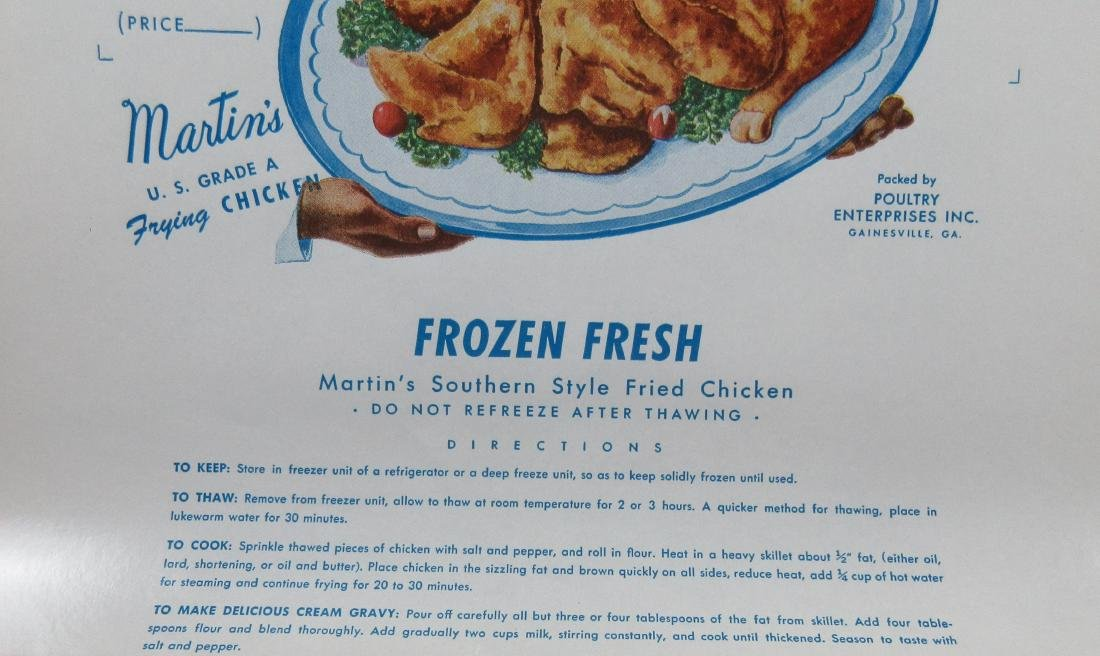 """Large 16"""" Martin's Southern Style Frying Chicken Box - 2"""