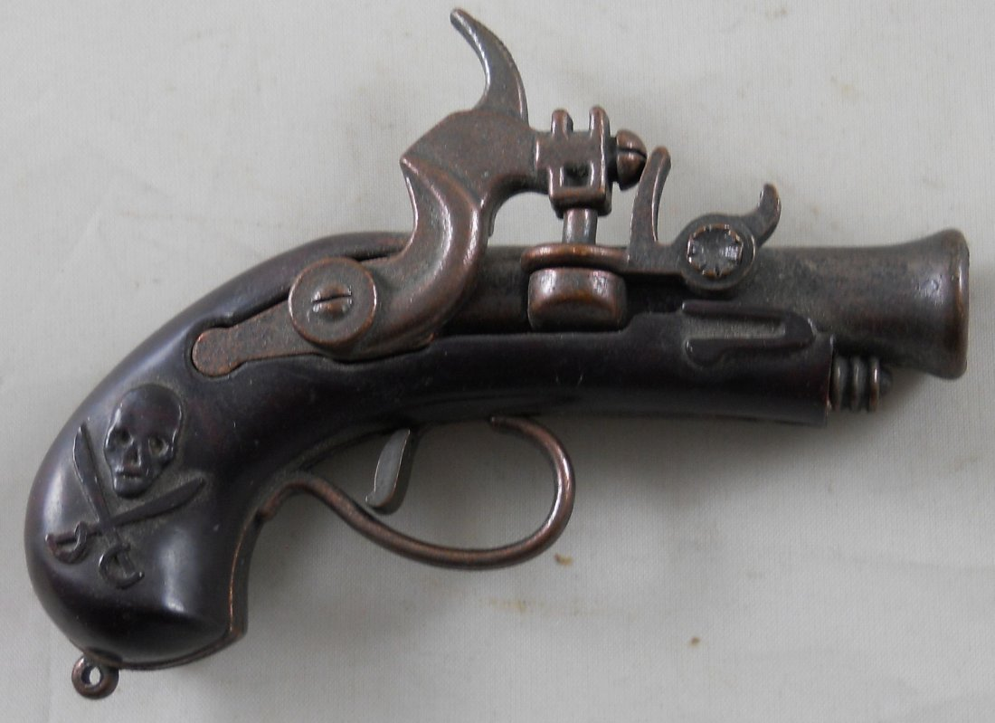 "Vintage REDONDO ""Pirate"" Flintlock Cap Gun. 3.5""L"